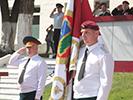 Ритуал вручения Боевого Знамени разведывательному отряду «Русь»
