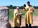 Реабилитационный центр  «ВИТЯЗЬ» - закладка камня