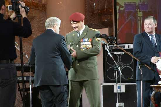 Награждение ветеранов отряда