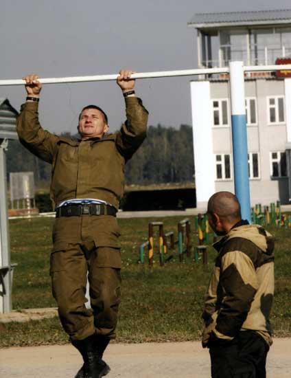 Сила и выносливость - важные качества будущего спецназовца