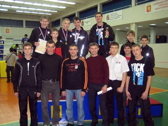 Команда клуба «Витязь-Союз» г. Назарово