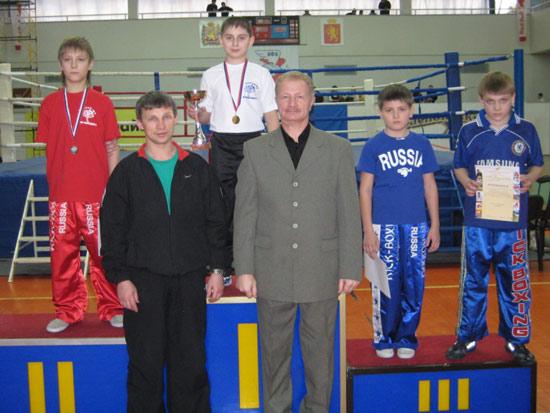 На первом месте пьедестала Артём Кириллов
