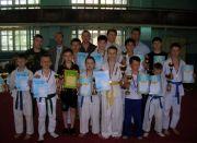 Участники турнира по Каратэ в г. Елец