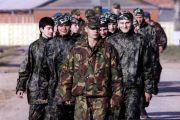 Команды участники выходят на старт состязаний