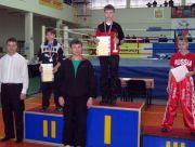 Победитель Первенства в разделе семи-контакт Михаил Кожарин