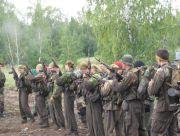 Проверка боеготовности оружия перед маршем
