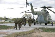 Посадка в вертолет