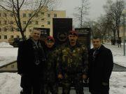 """У мемориала """"Витязям"""", погибшим при выполнении воинского долга."""